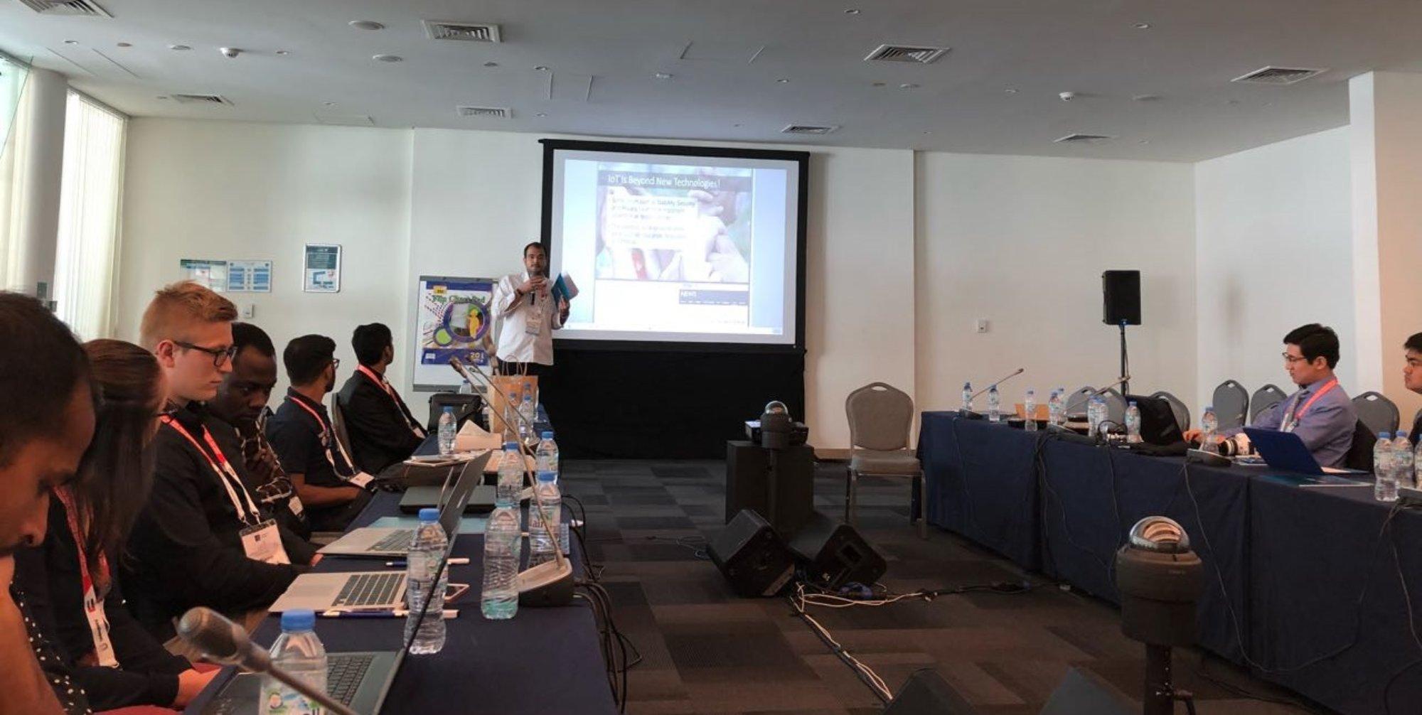 رحمانپور از لینکپ در آیکن ۶۰ (ICANN60)