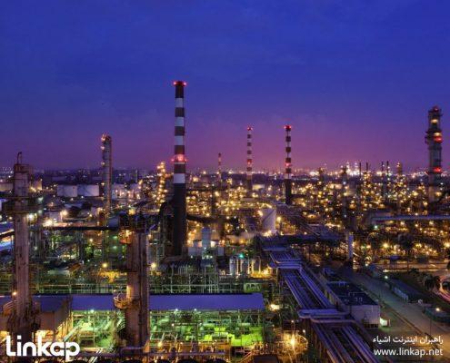 اینترنت اشیا در صنایع نفت و گاز