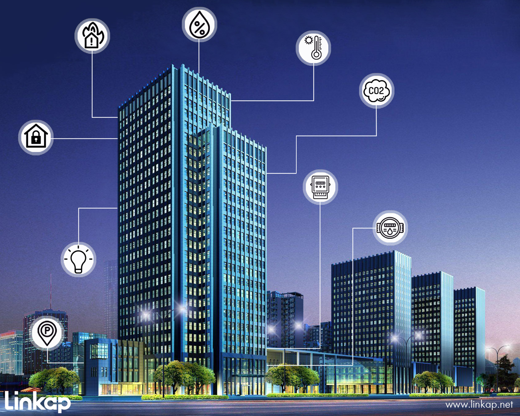 هوشمندسازی ساختمان بر مبنای اینترنت اشیا