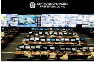 شکل 2- مرکز عملیات شهر هوشمند ریو دو ژانیرو